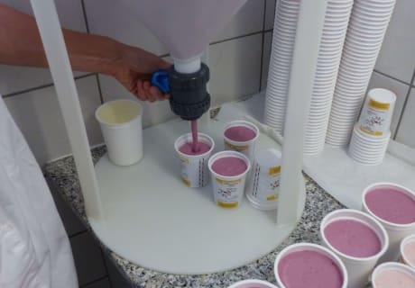 Joghurtabfüllung