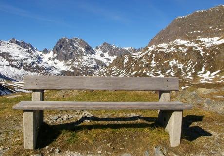 Morgen geht`s ins Gebirge. Einladung zum Verweilen und Genießen.