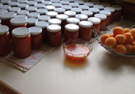 selbstgemachte Marmelade