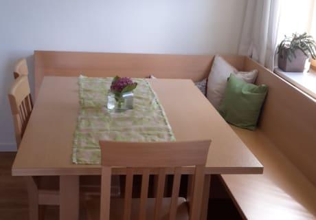 Genießen Sie das Frühstück in unserem neuen Raum