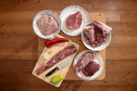 frisches Lammfleisch