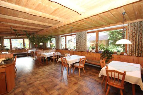 Frühstückszimmer und Aufenthaltsraum