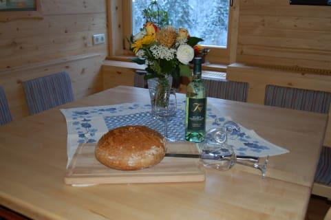 Das Brot backen wir selbst