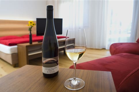 Wein am Zimmer