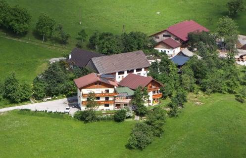 Grüblerhof von oben