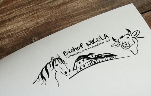 Logo Biohof Nikola