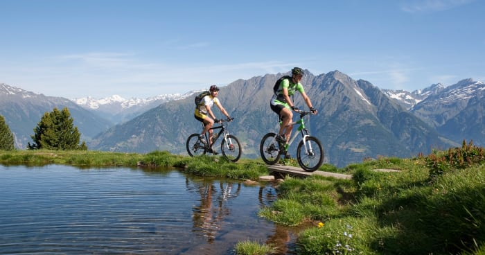 Mountain bike weeks in spring with 315 sunny days