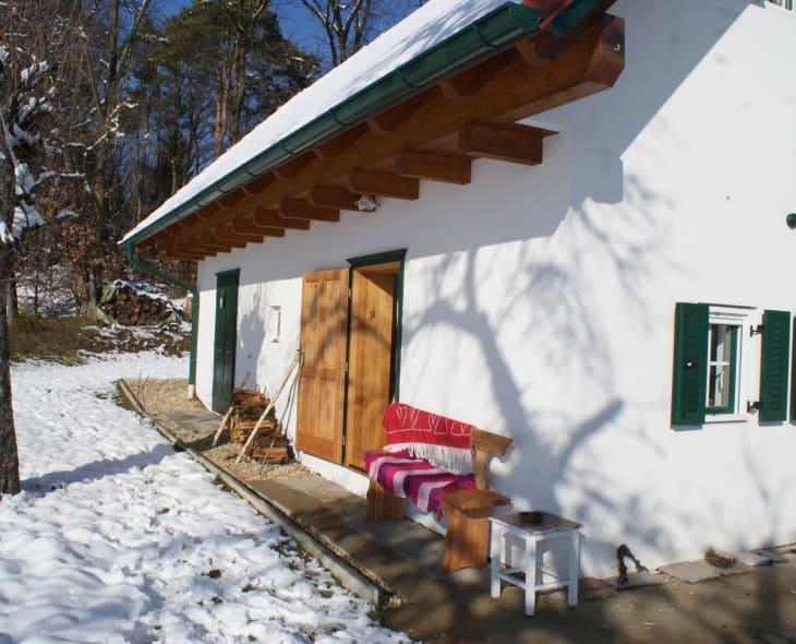 Bankerlsitzen auch im Winter