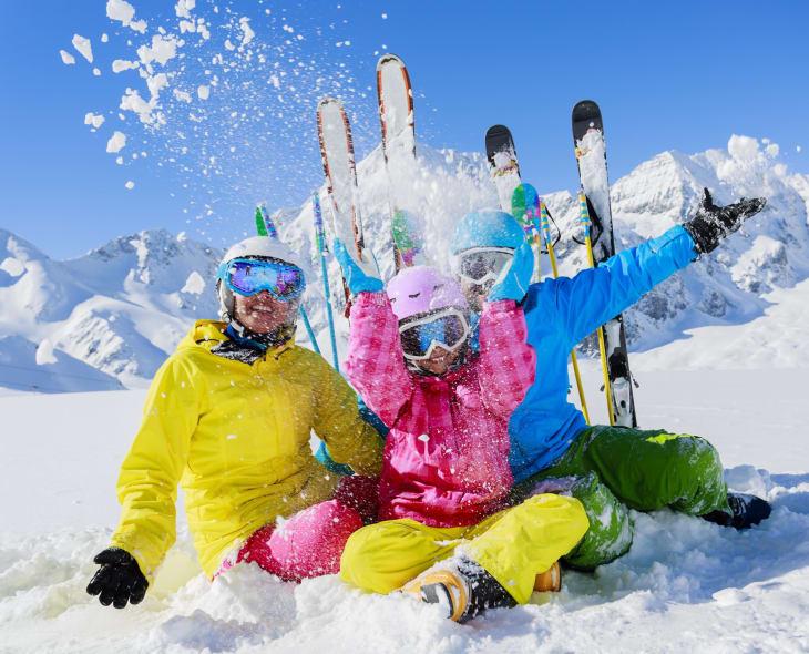 Spaß im Schnee nassfeld.at