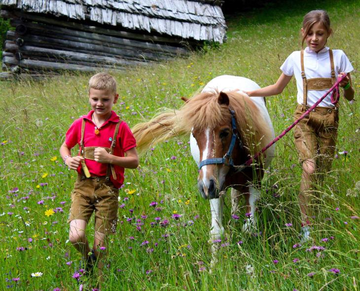 Ausflug mit Pony Samira