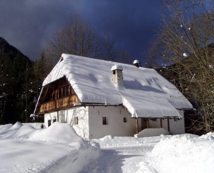 Raunig im Winter