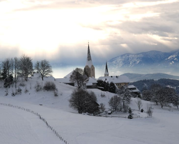 Sörg im Winter