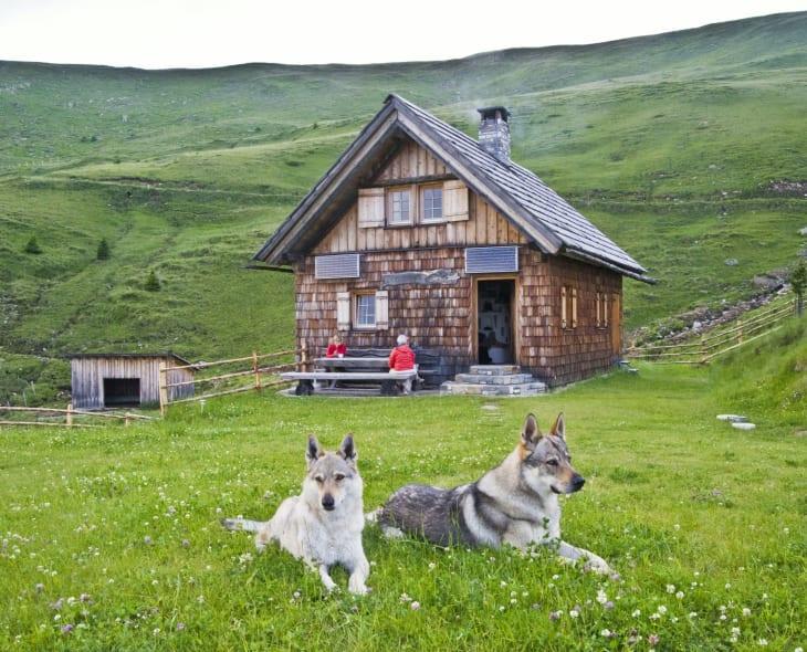 Obere Sandrisser Hütte