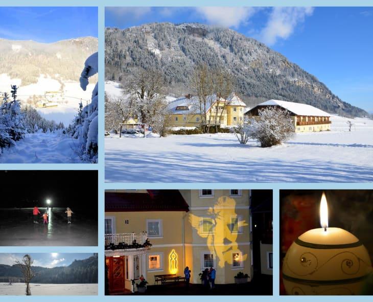 Unser schöner Talhof im Winter! https://www.talhof.net