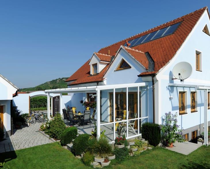 Haus Gartenseite