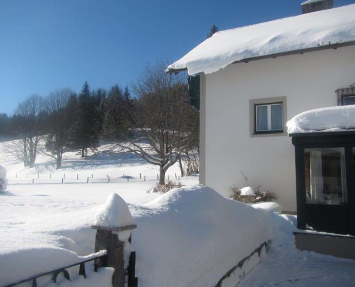 Ferienwohung Margreiter - Winteransciht