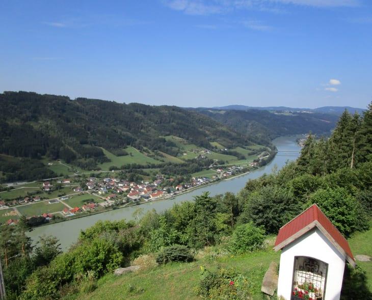 Herrlicher Blick ins Donautal