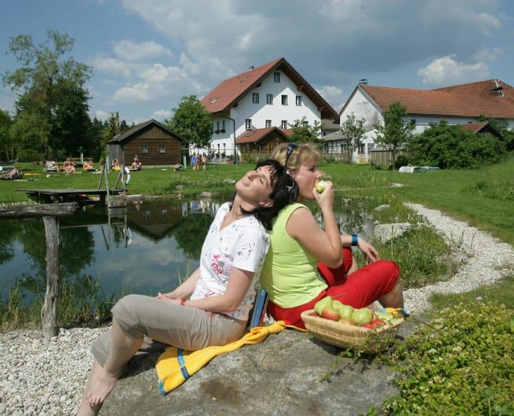Am Rothstadlerhof die Ruhe genießen
