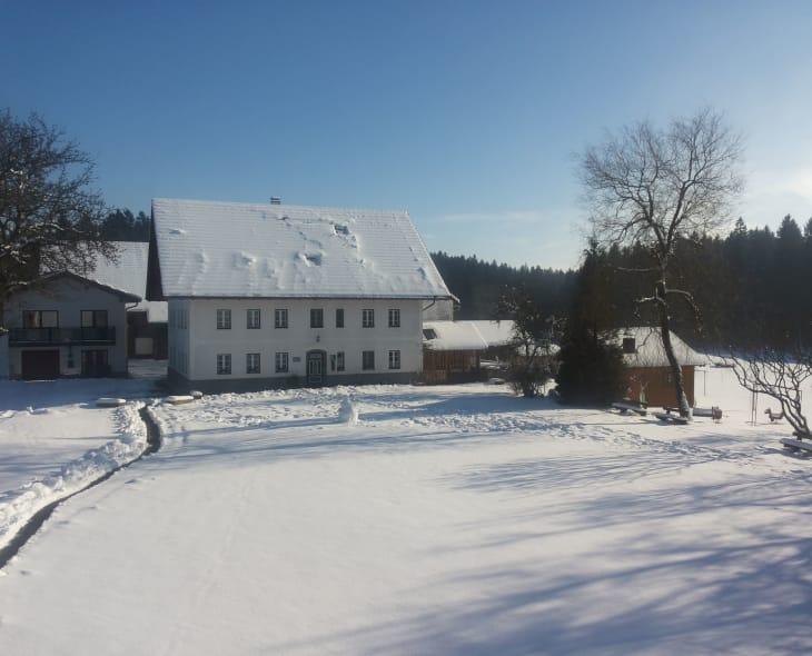 Winter am Rothstadlerhof