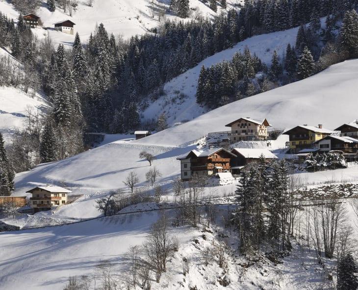 Untergollegghof im Winter