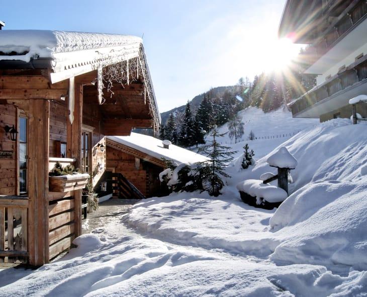 Blockhäuser Winter