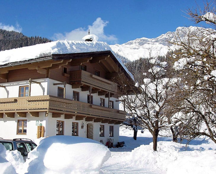 Herzoghof im Winter