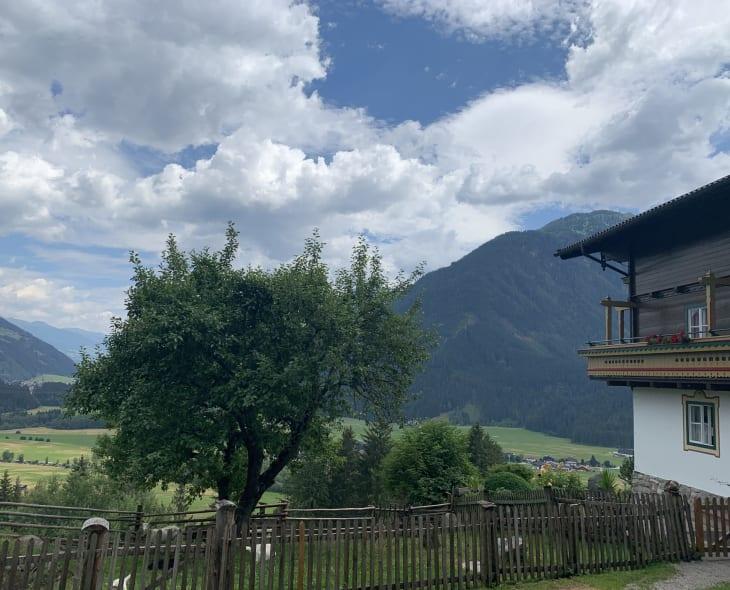 Bauernhaus mit Garten Bauernhof Oberscheffau