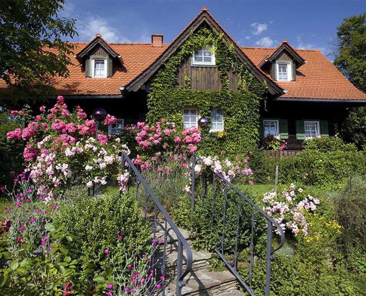 Haus Hoamatl Altes Gehöft am Lormanberg Steirisches Thermen- und Vulkanland Österreich