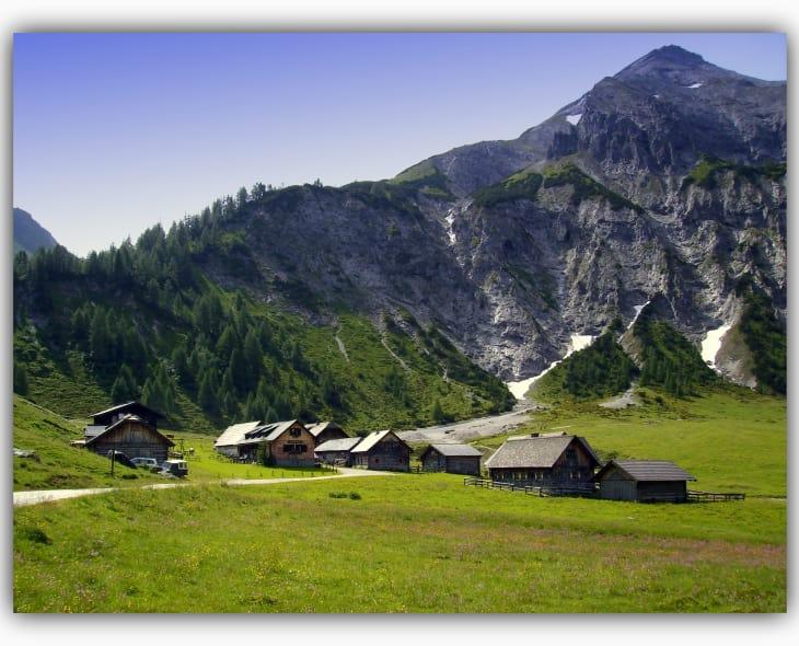 Ursprung mit Kalkspitze