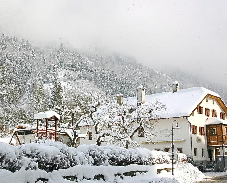 Tschitscherhof Winter