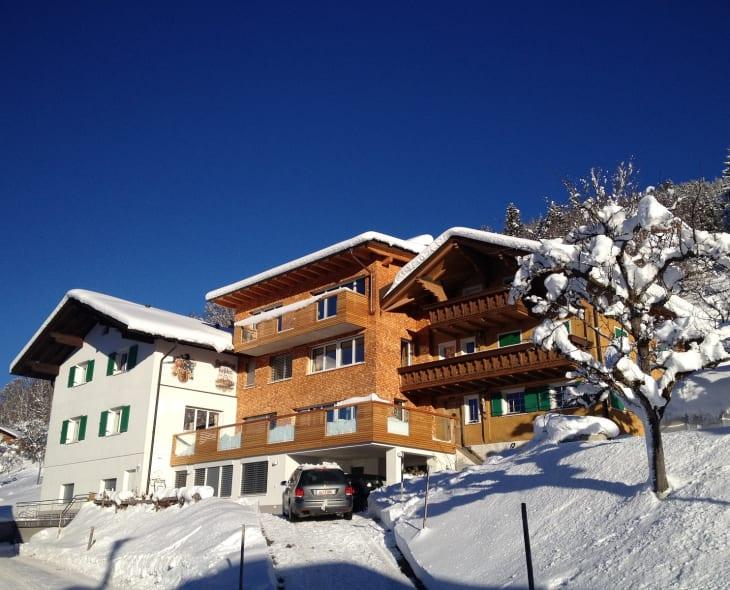 Berg Panorama Familie Keßler