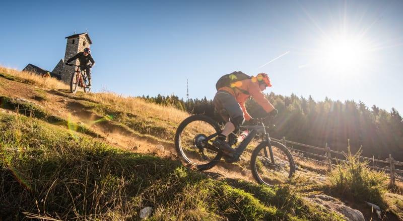 Settimane in mountain bike con 315 giorni di sole