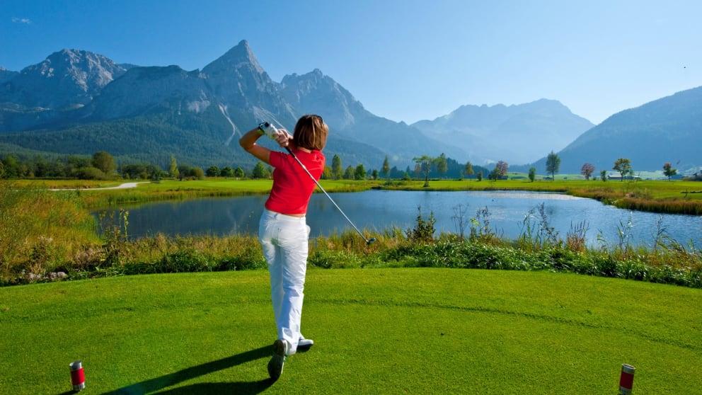 Grüne Golf Tage