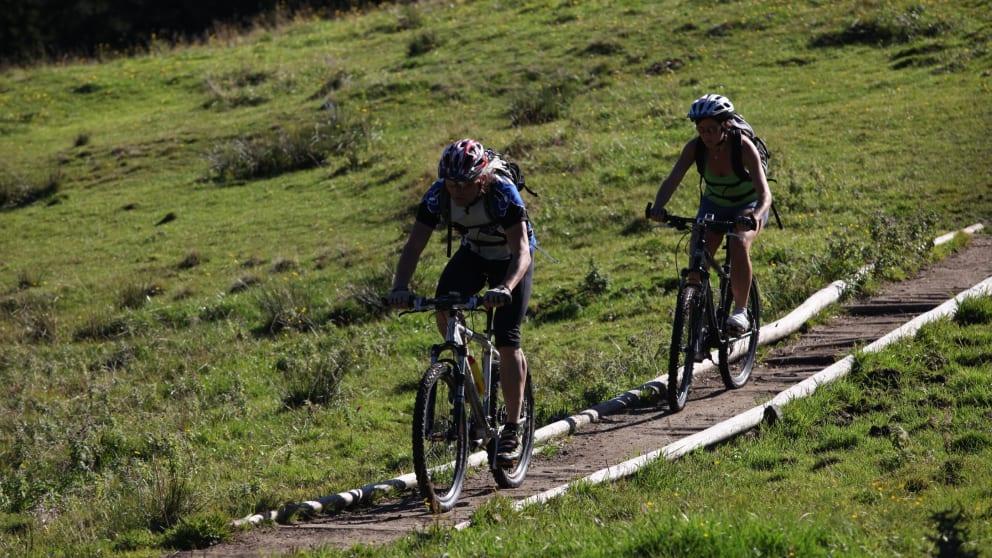 Bike-weekend in spring