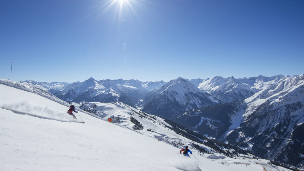 Spring skiing 7=6