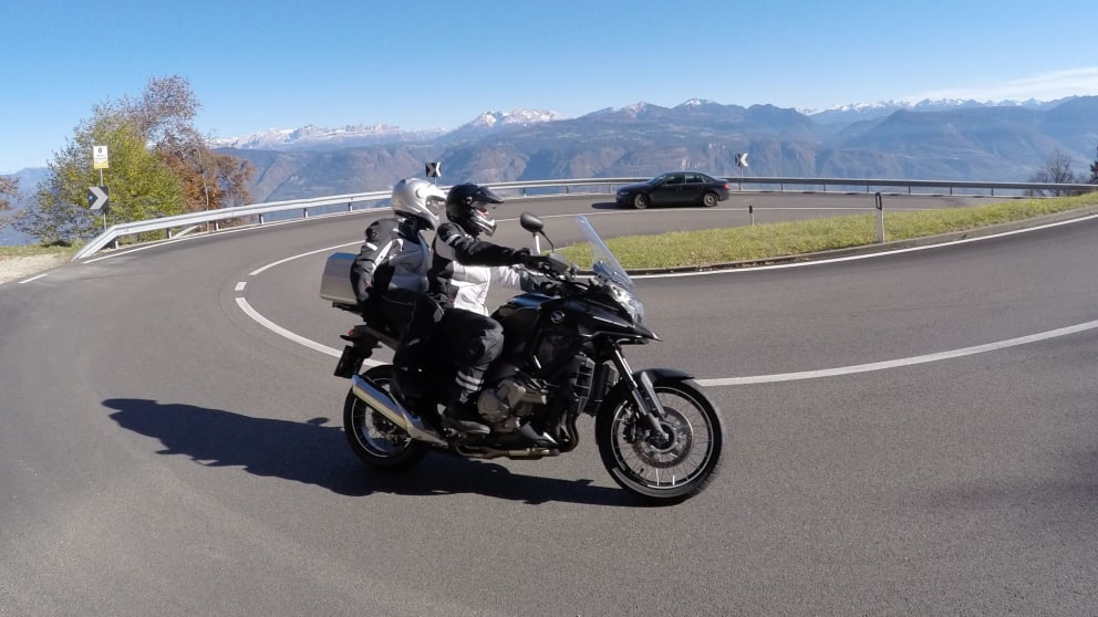 Exploring South Tyrol by motorcycle