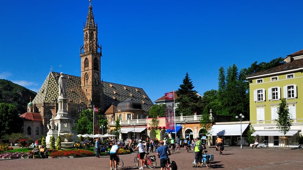Culture and relaxation on the South Tyrolean Wine Route