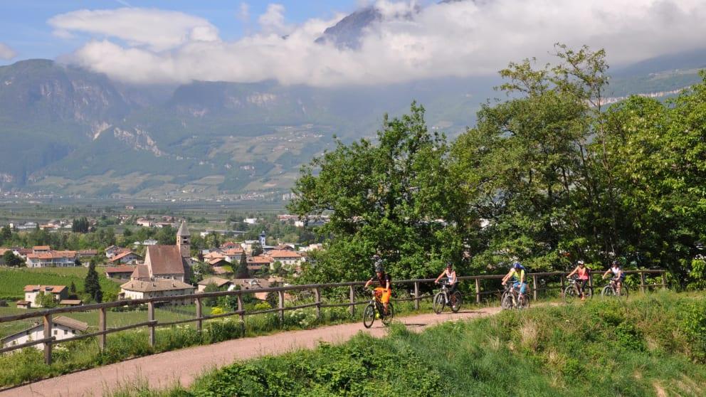 E-Bike-Urlaub. Auf die Radl'n,...fertig...los