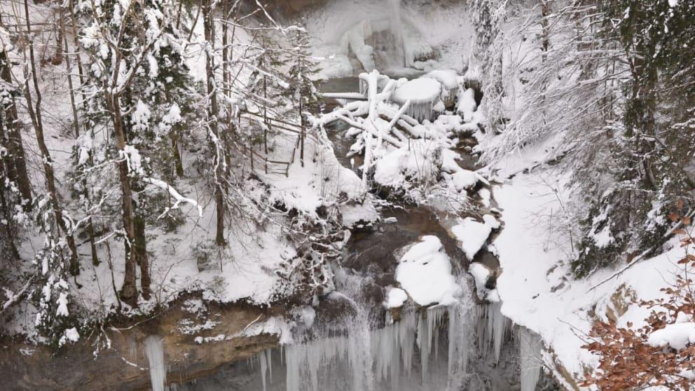 Winterzauber in Scheidegg