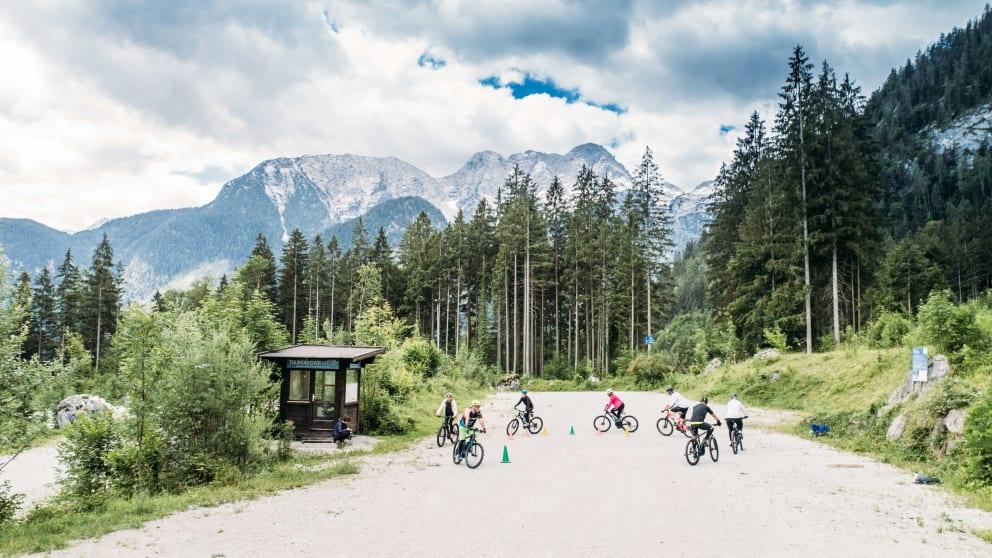 E-Bike-Camp im Salzburger Saalachtal