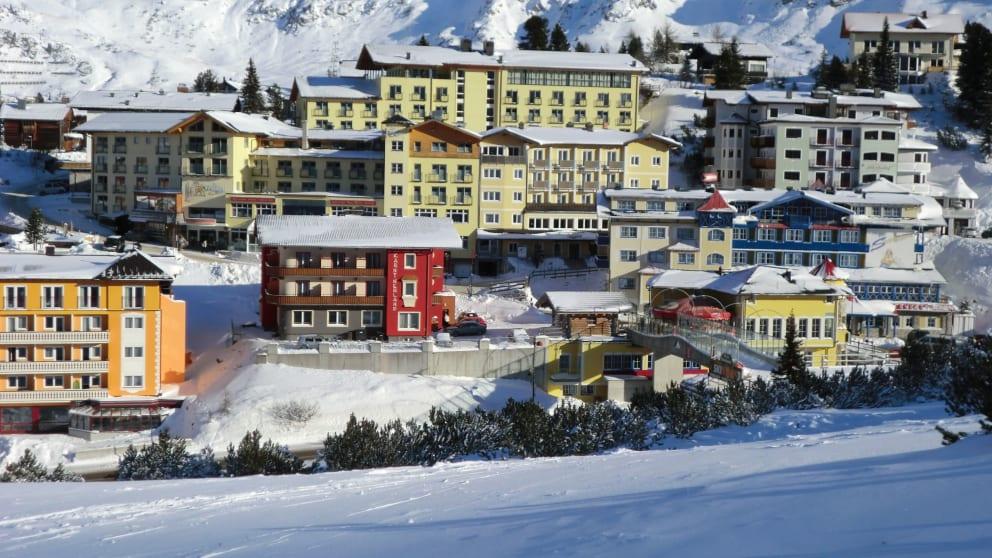 Frohe Snow-stern - herrliche Ostertage im Schnee
