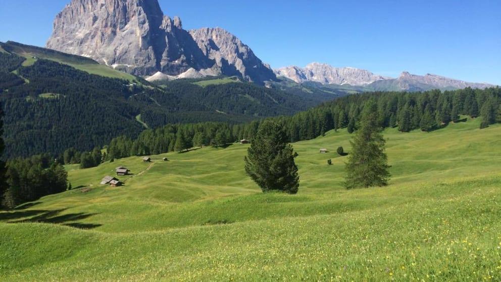 Escape in the Dolomites