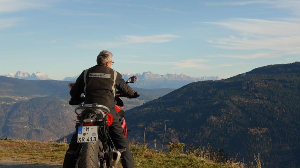 Reiten & Motorradfahren light im Vinschgau