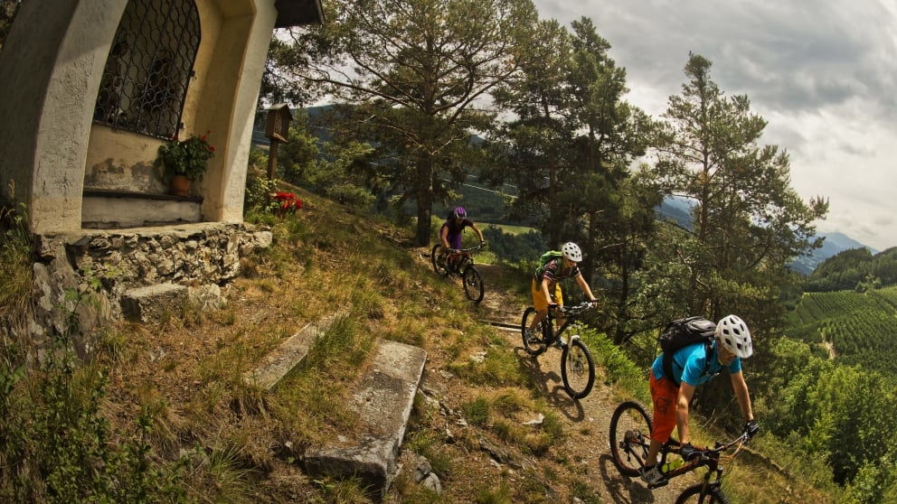 5 days mountainbike holidays