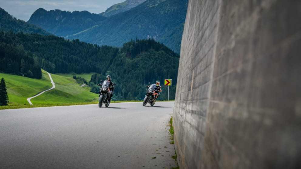 4 days motorcycle riding in Zillertal