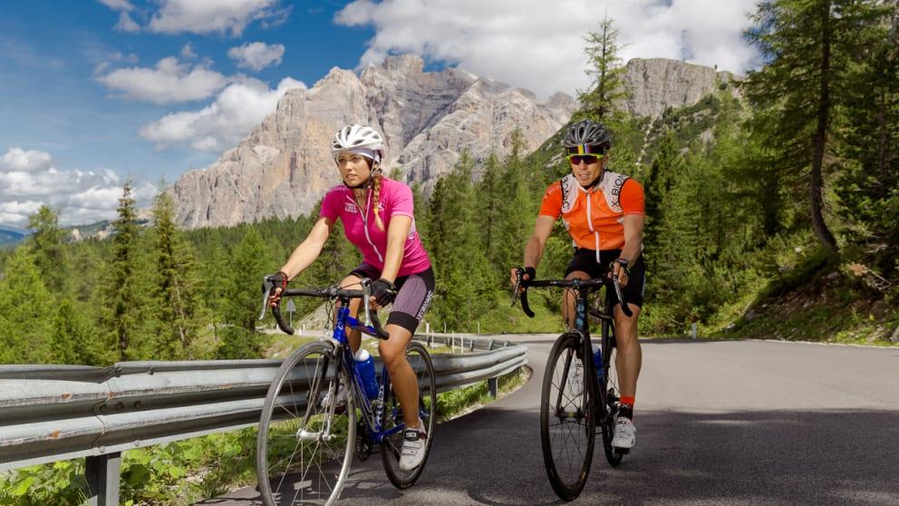 Roadbike Woche Dolomiten UNESCO Welterbe