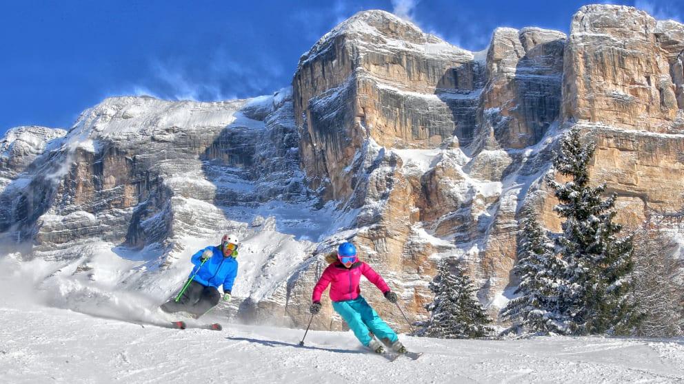 Dolomites Ski Week January