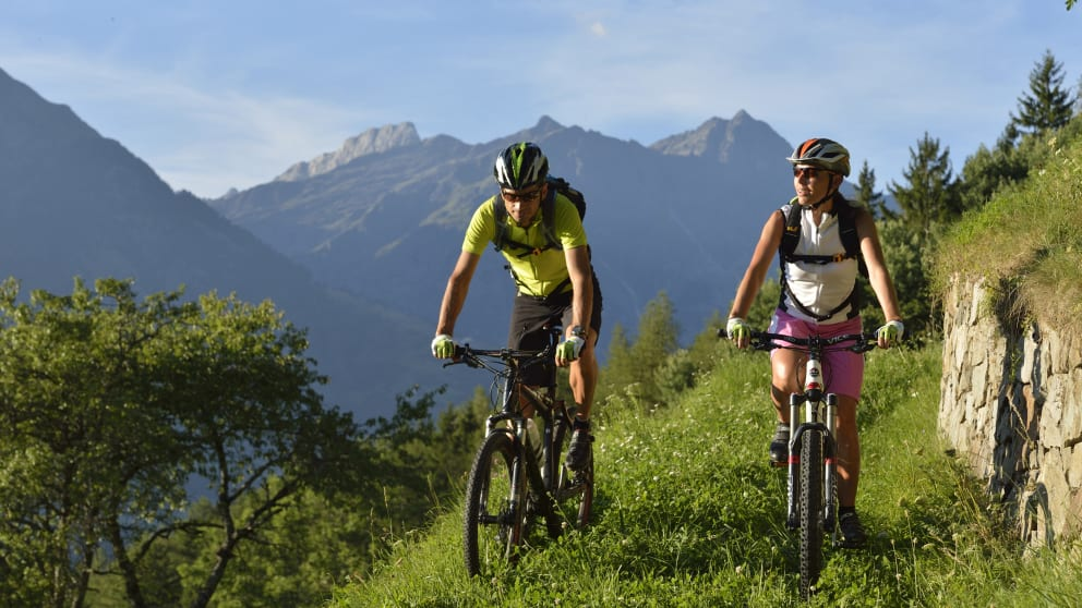 Biken in der schönsten Region Südtirols