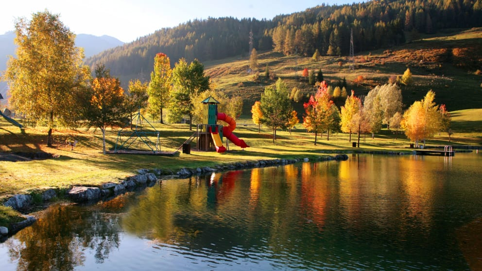 Camping Goldener Herbst