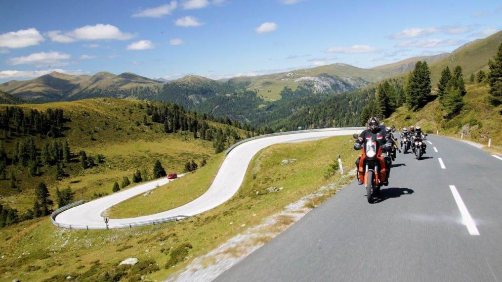 Touren- und Wanderwoche für Motorradfahrer